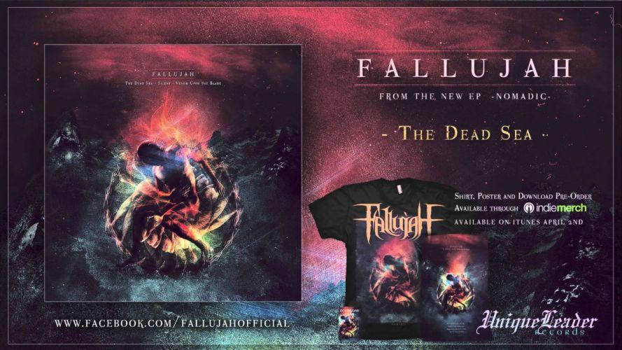 FALLUJAH technical death metal heavy dark evil poster wallpaper