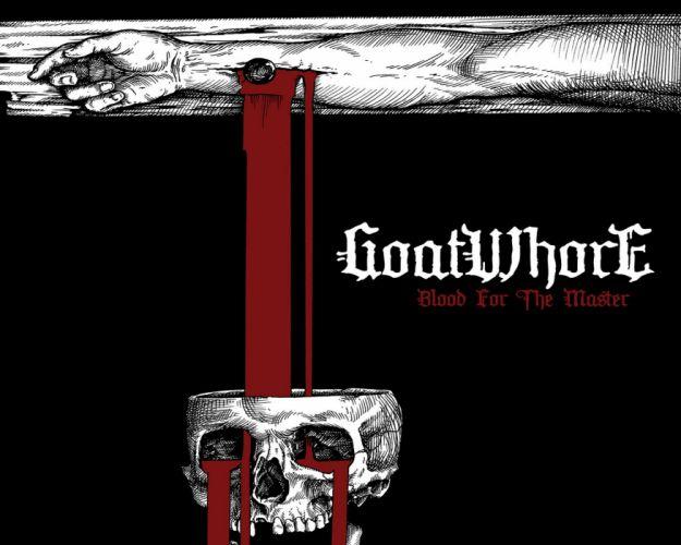 GOATWHORE black death metal heavy thrash dark evil reaper skull wallpaper