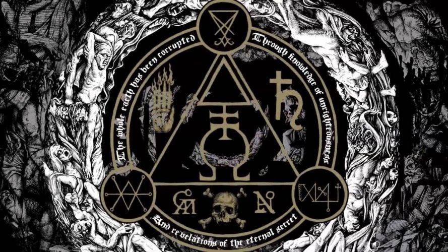 GOATWHORE black death metal heavy thrash dark evil occult satanic wallpaper