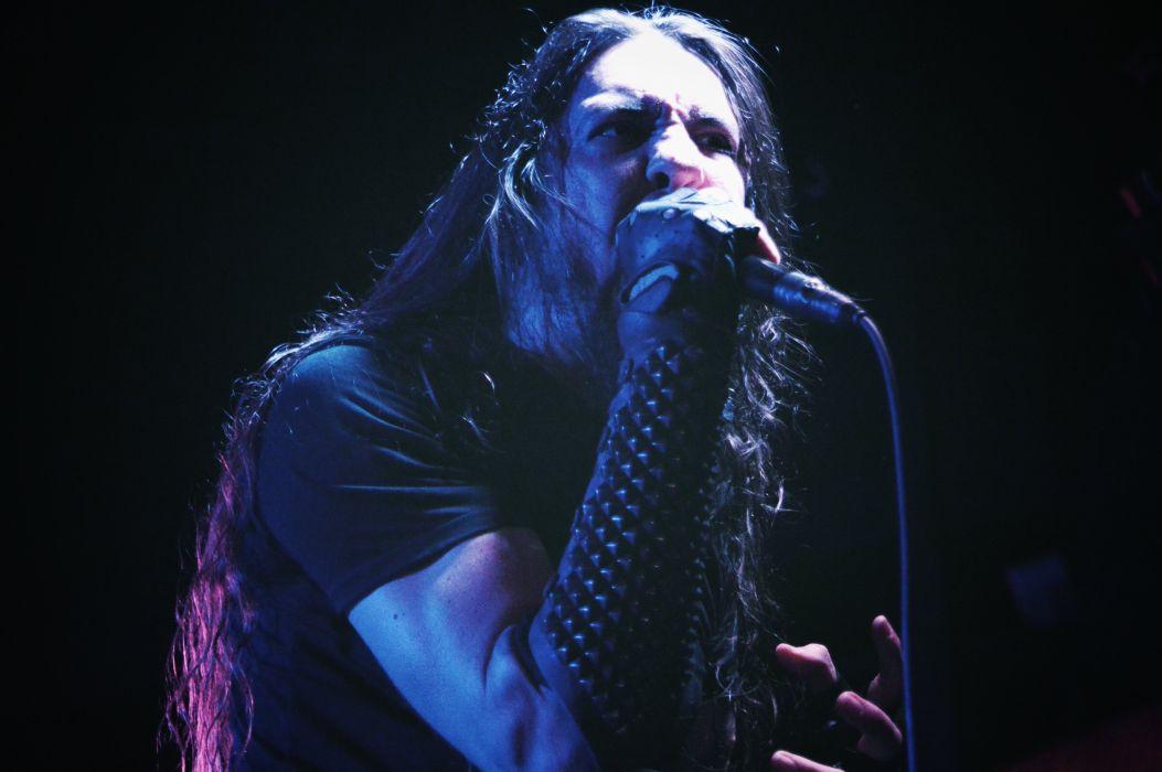 GOATWHORE black death metal heavy thrash dark concert singer wallpaper