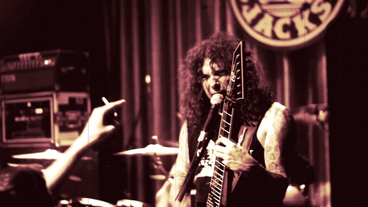 GOATWHORE black death metal heavy thrash dark concert guitar wallpaper