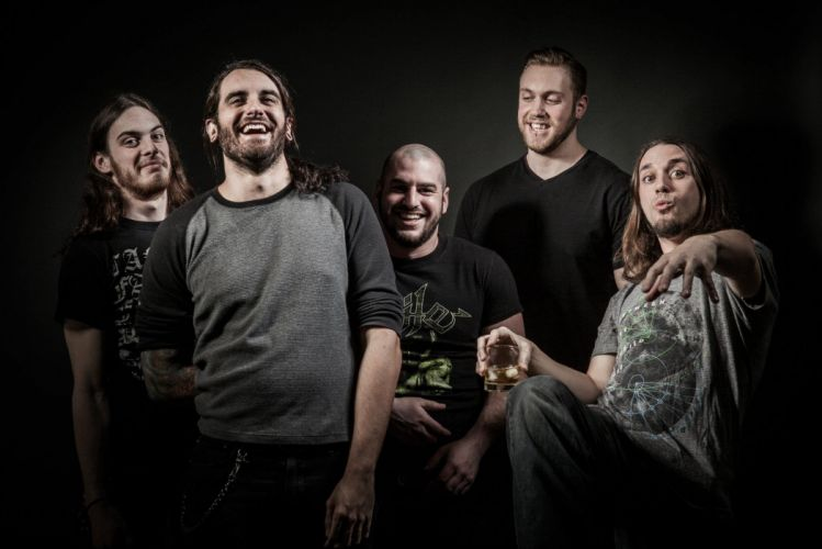 JOB FOR A COWBOY death metal heavy deathcore 1jfac dark wallpaper