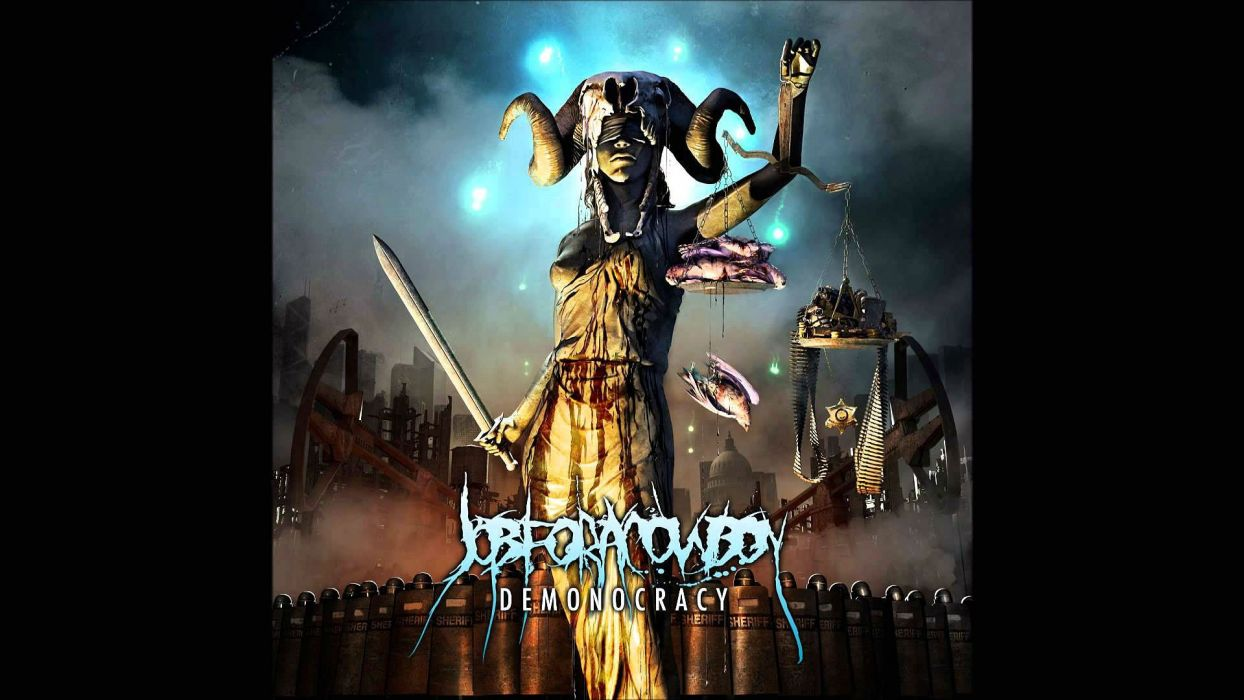Job For A Cowboy Death Metal Heavy Deathcore 1jfac Dark Occult