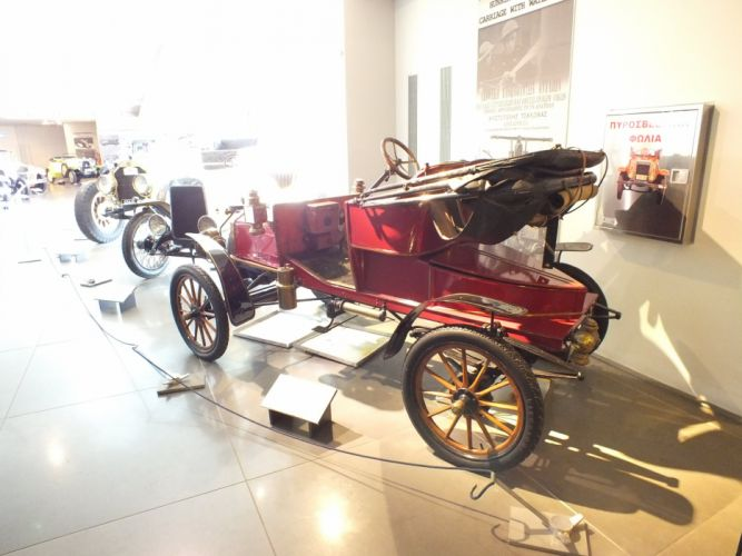1906 cars Ford model n two seater runabout retro wallpaper