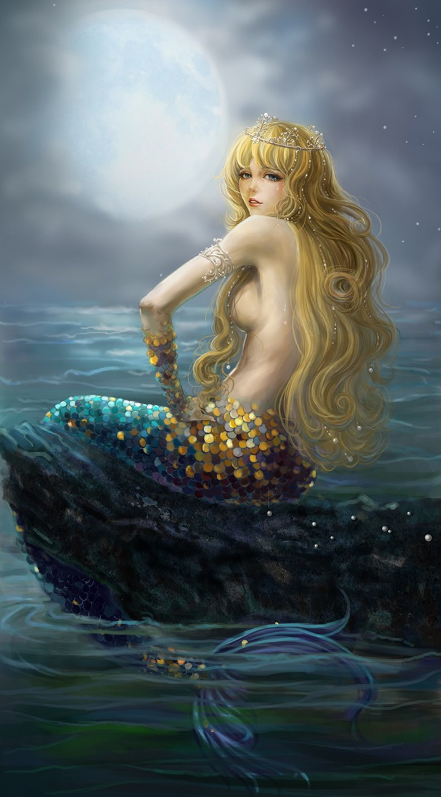 Mermaid fantasy sex nackt scene