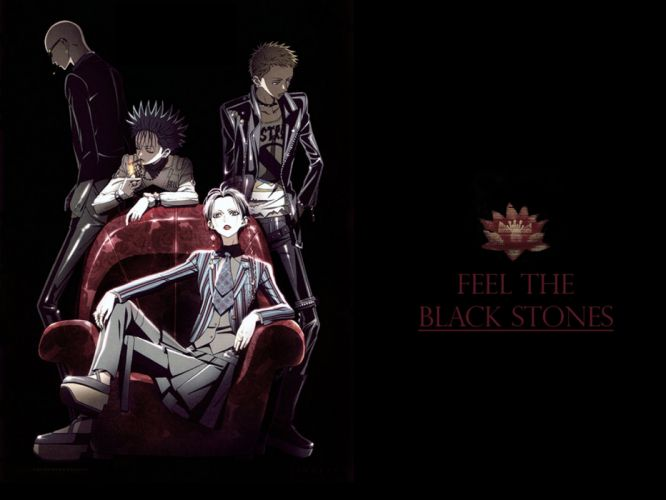 anime nana series group music black stones characters wallpaper