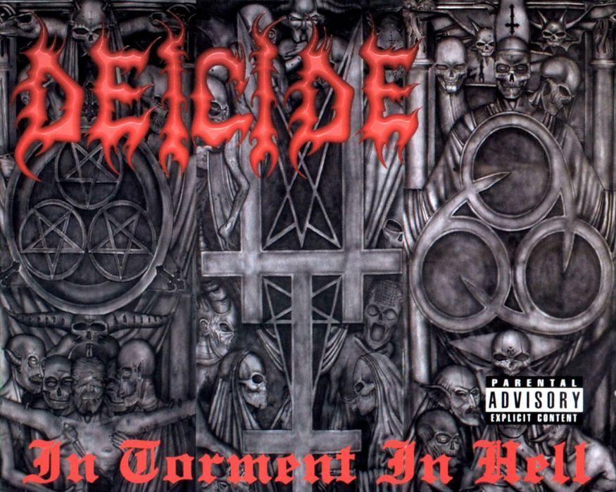 DEICIDE death metal heavy satanic dark evil wallpaper