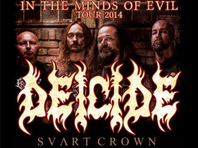 DEICIDE death metal heavy satanic wallpaper