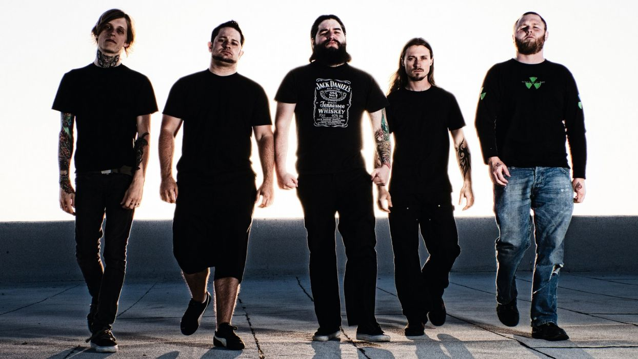 ALL SHALL PERISH deathcore heavy metal 1asp wallpaper