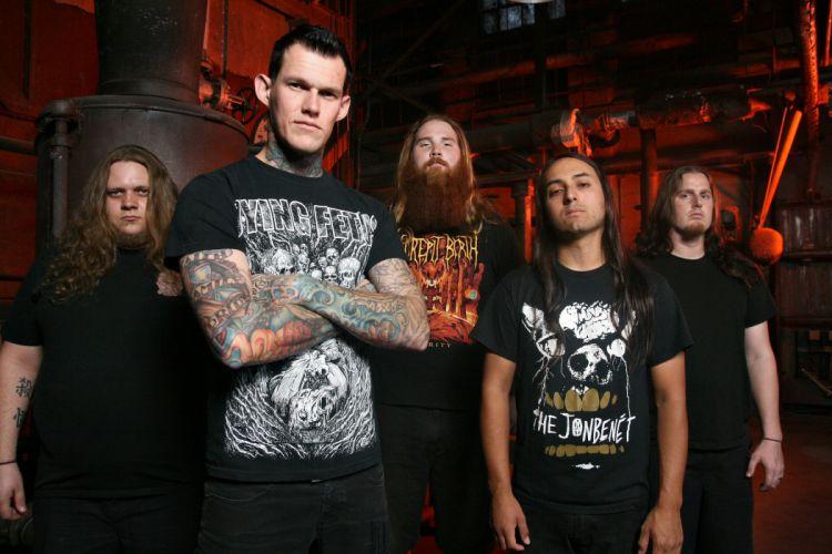 CARNIFEX deathcore heavy metal 1carn death symphonic wallpaper