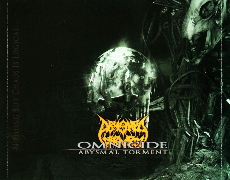 ABYSMAL TORMENT brutal death metal heavy 1ator dark evil poster wallpaper