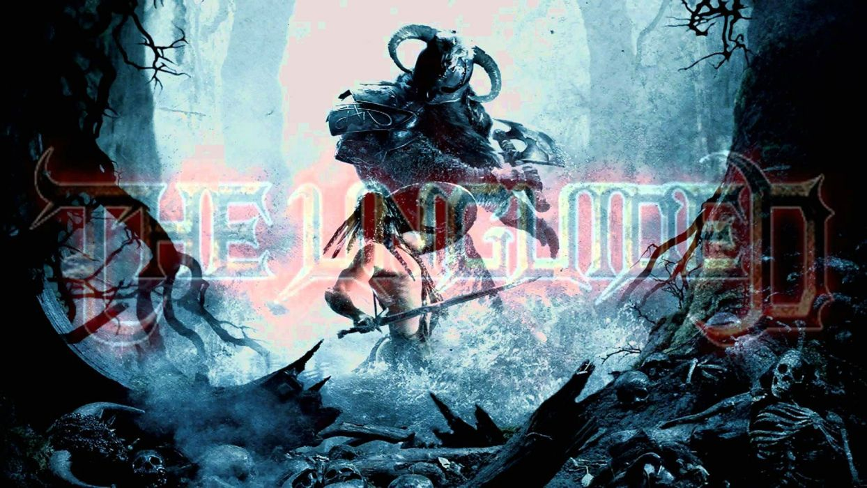THE UNGUIDED melodic death metal heavy 1ung reaper dark evil demon warrior poster wallpaper