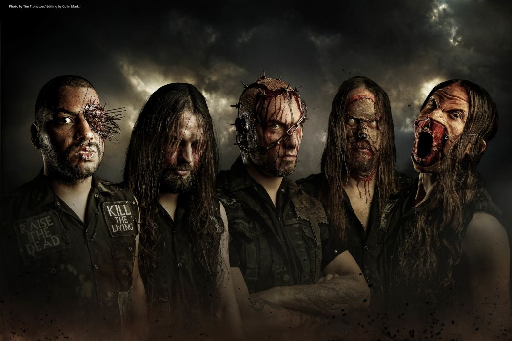 ABORTED death metal heavy grindcore wallpaper