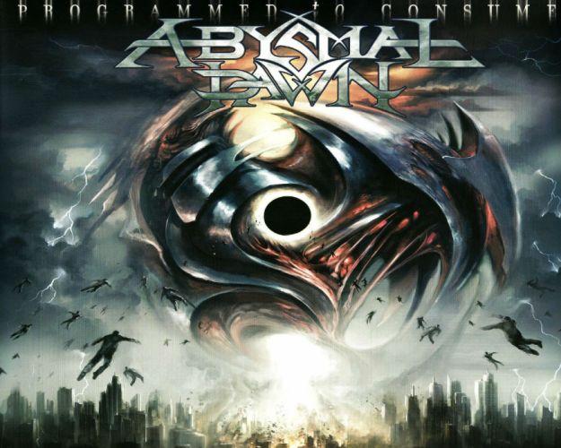 ABYSMAL DAWN death metal heavy 1adawn dark evil demon skull poster wallpaper