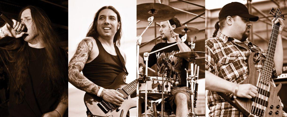 MALIGNANCY death metal grindcore heavy 1mag concert singer drums guitar wallpaper
