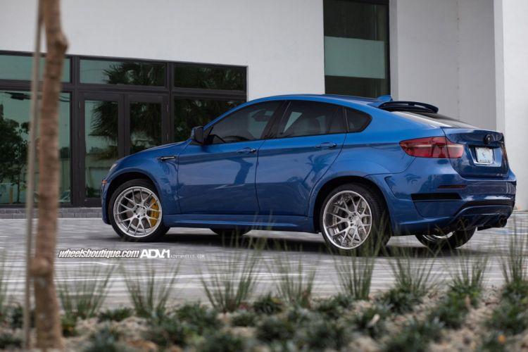 ADV 1 WHEELS tuning cars BMW X6M WIDEBODY suv wallpaper