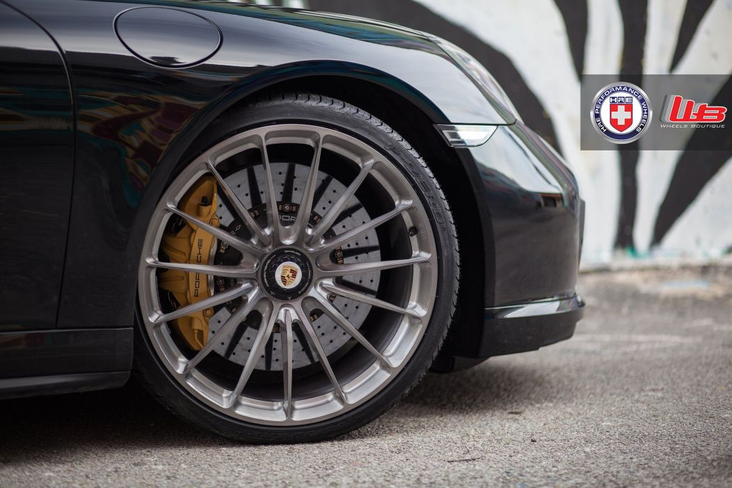 hre WHEELS tuning cars Porsche 991 Turbo S wallpaper