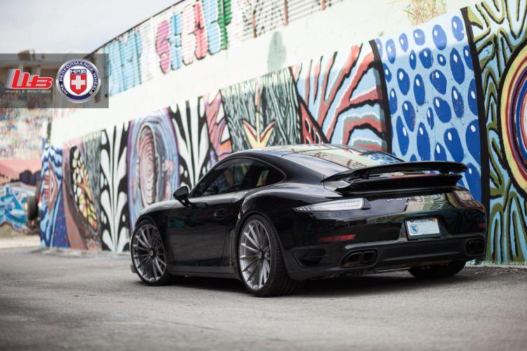 hre WHEELS tuning cars Porsche 991 Turbo S wallpaper