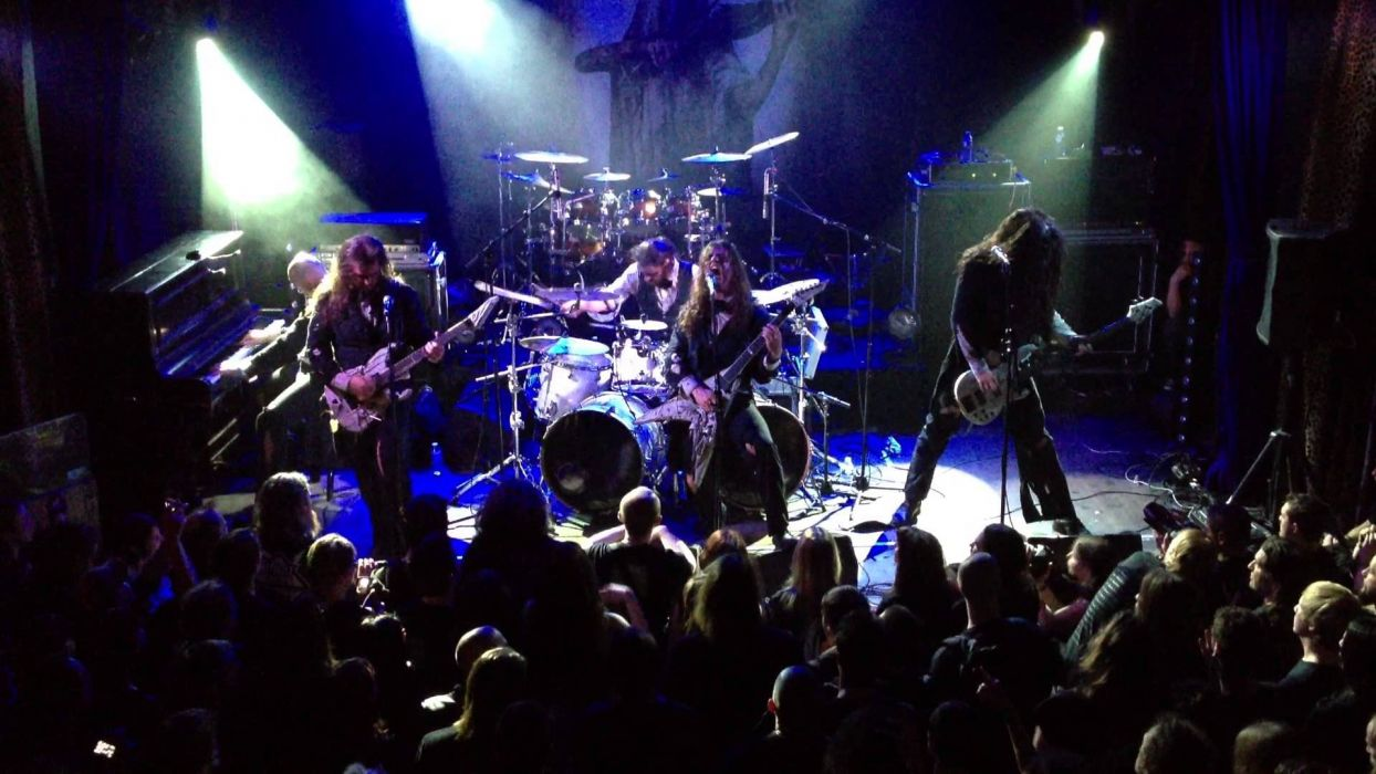 FLESHGOD APOCALYPSE technical death metal heavy concert drums guitar wallpaper