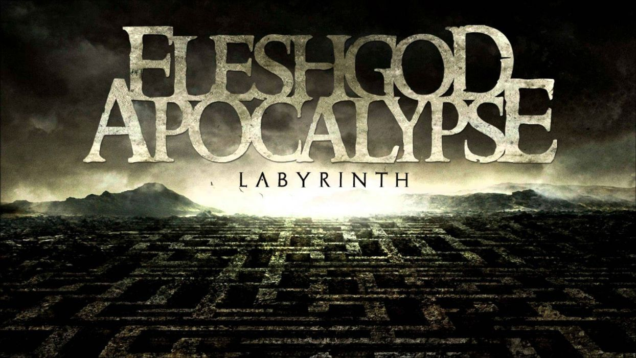 FLESHGOD APOCALYPSE technical death metal heavy dark poster wallpaper