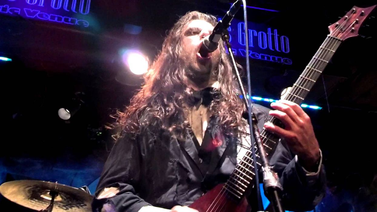 FLESHGOD APOCALYPSE technical death metal heavy concert guitar singer wallpaper