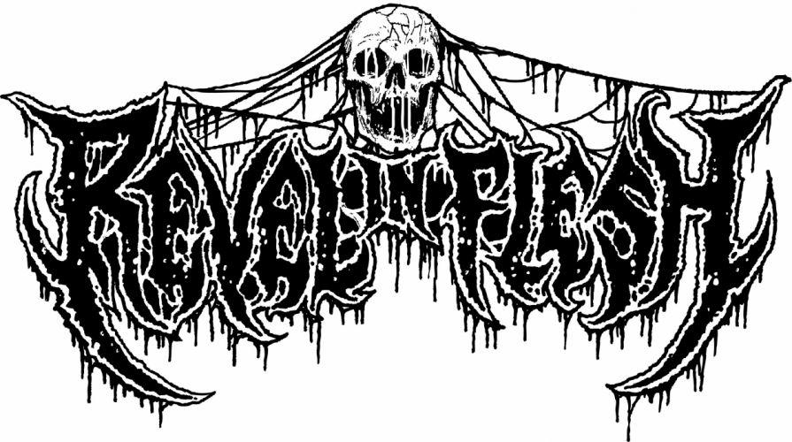 DEATH METAL heavy dark evil skull wallpaper