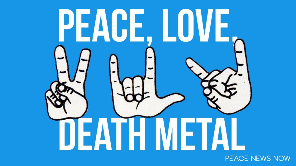 DEATH METAL heavy love text typography wallpaper