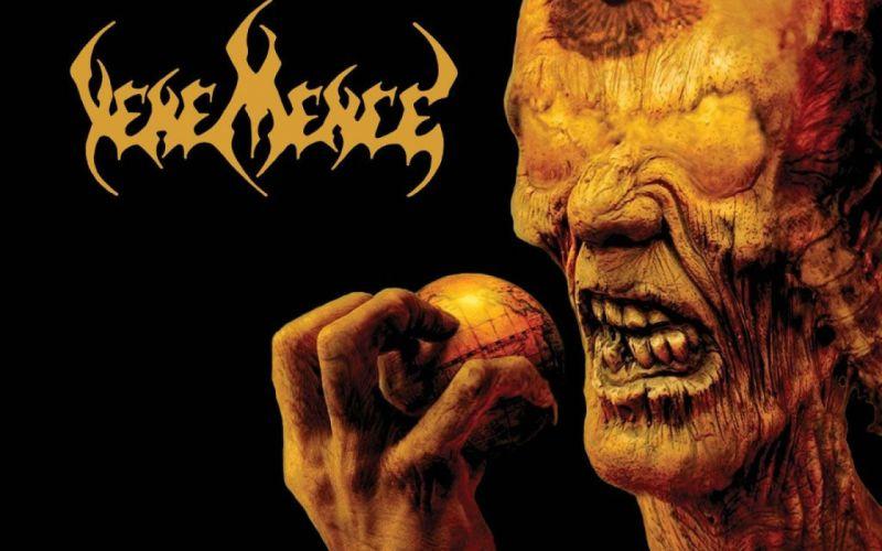 DEATH METAL heavy dark evil poster wallpaper