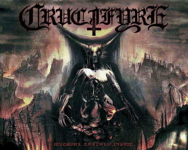 DEATH METAL heavy dark evil poster demon wallpaper