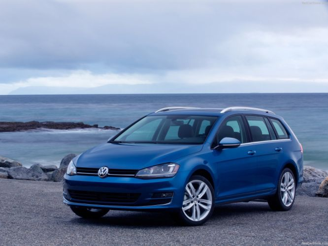 Volkswagen Golf SportWagen cars 2015 wagon wallpaper