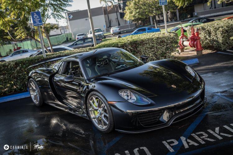 Porsche 918 Spyder HRE wheels tuning cars supercars wallpaper
