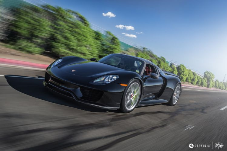 Porsche 918 Spyder HRE wheels tuning cars supercars wallpaper