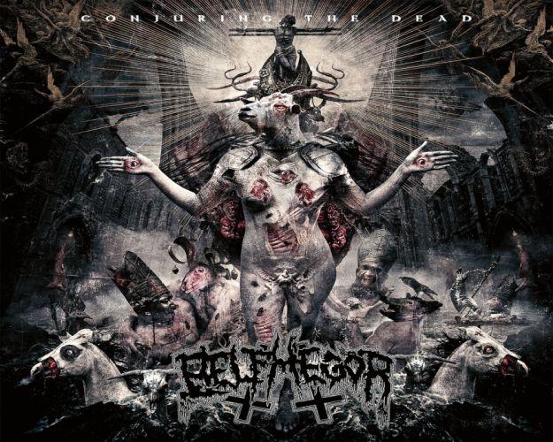 DEATH METAL heavy black dark evil horror poster blood skull wallpaper