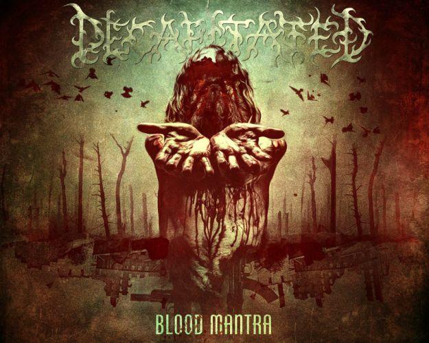 DEATH METAL heavy dark horror evil poster blood wallpaper