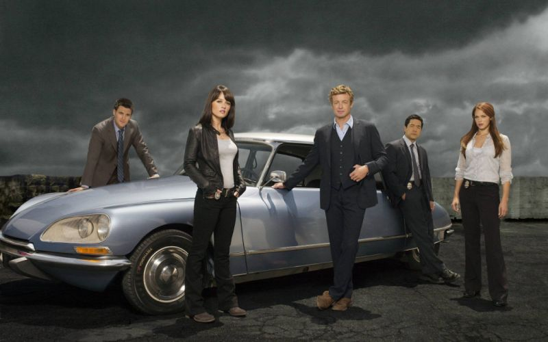 el mentalista serie tv suspense drama accion wallpaper
