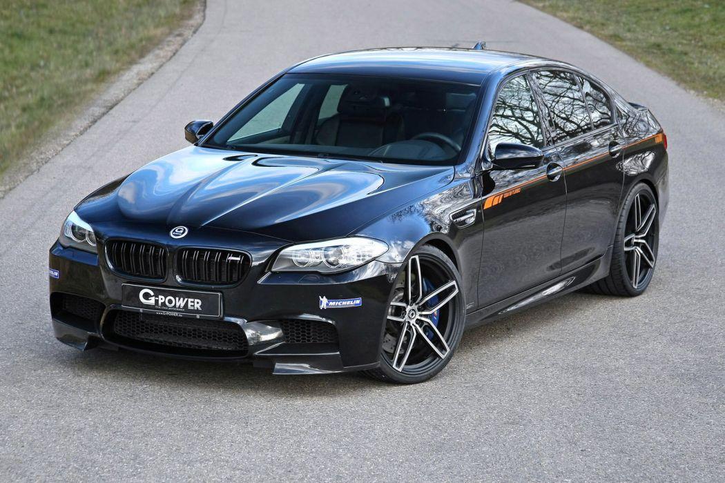 2015 G-Power BMW F10 M 5 cars tuning black wallpaper