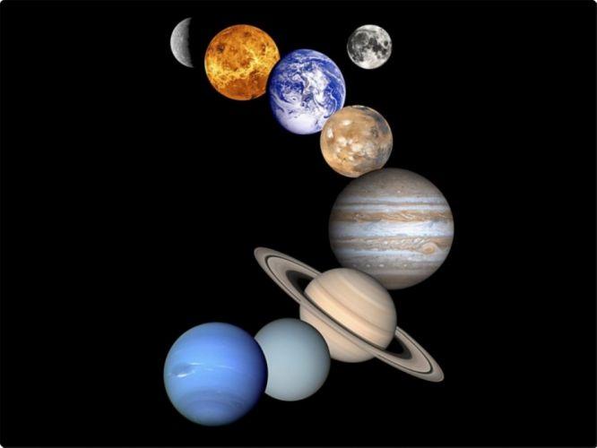 planets solar system wallpaper