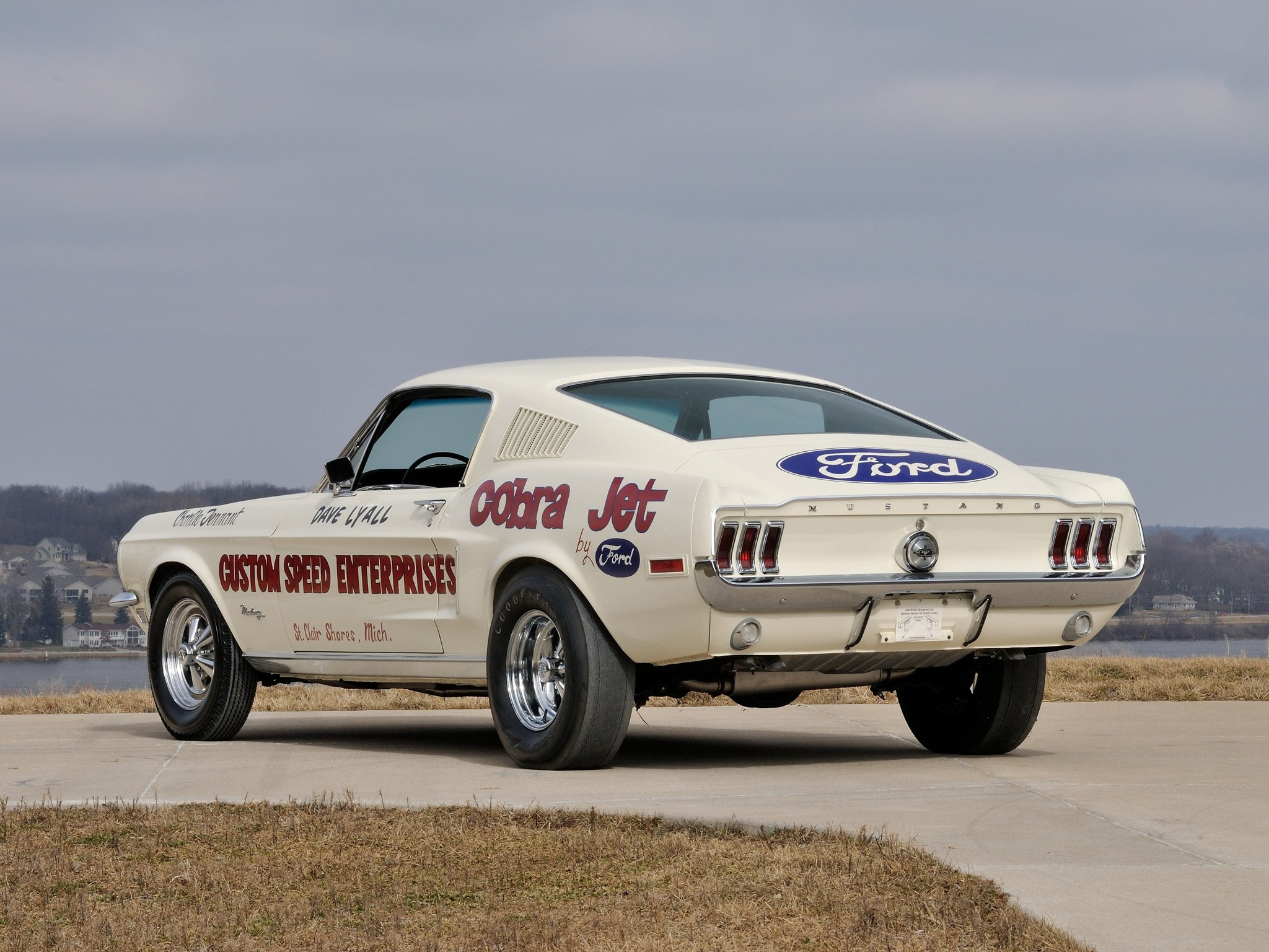 1968 ford mustang lightweight 428 cobra jet classic cars wallpaper 2048x1536 634875 wallpaperup