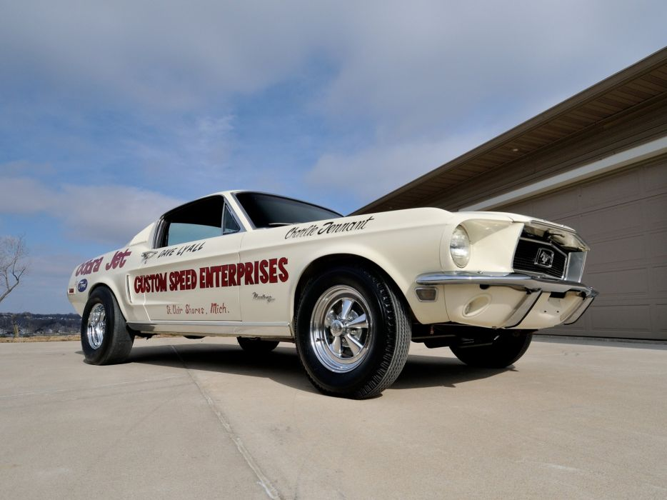1968 Ford Mustang Lightweight 428 Cobra Jet classic cars wallpaper