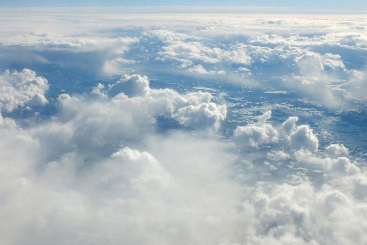 clouds landscape wallpaper