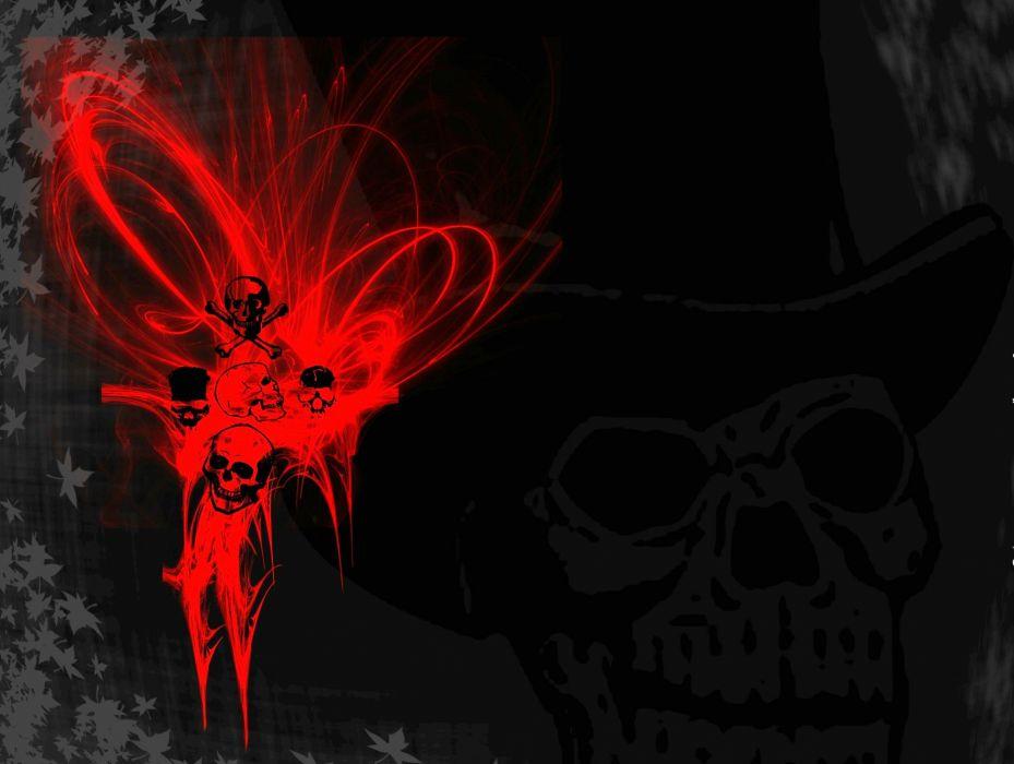 DEATH METAL black heavy dark horror evil skull wallpaper