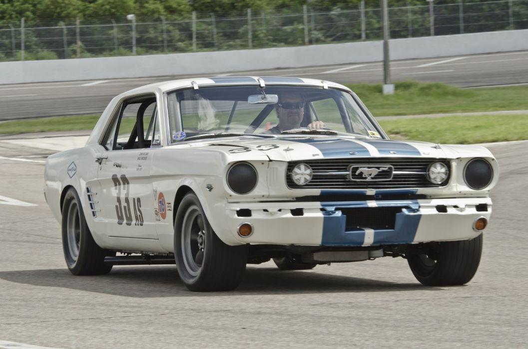 Shelby Mustang SCCA Group 2 American Sedan RaceCars cars classic 1966 wallpaper