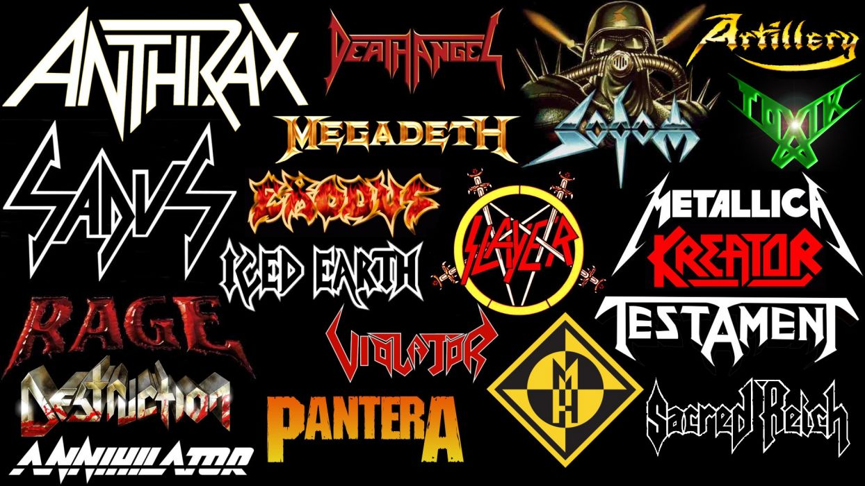 THRASH METAL heavy death black poster wallpaper