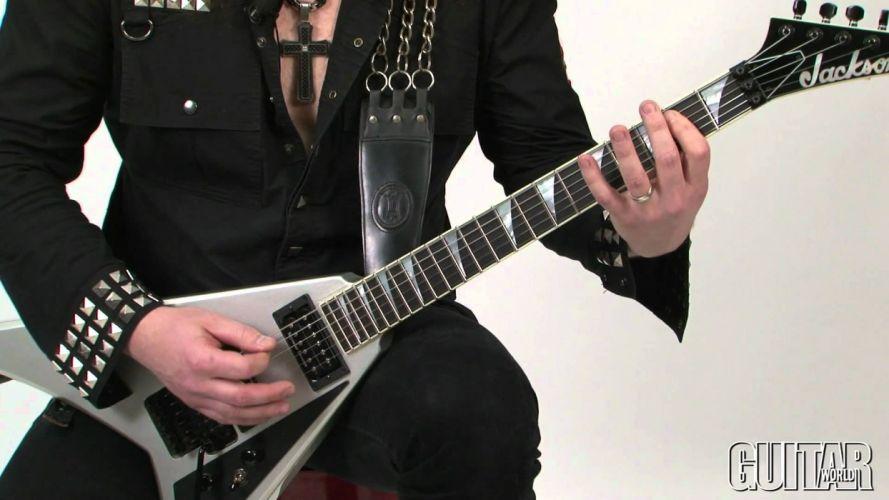 THRASH METAL heavy death black guitar wallpaper