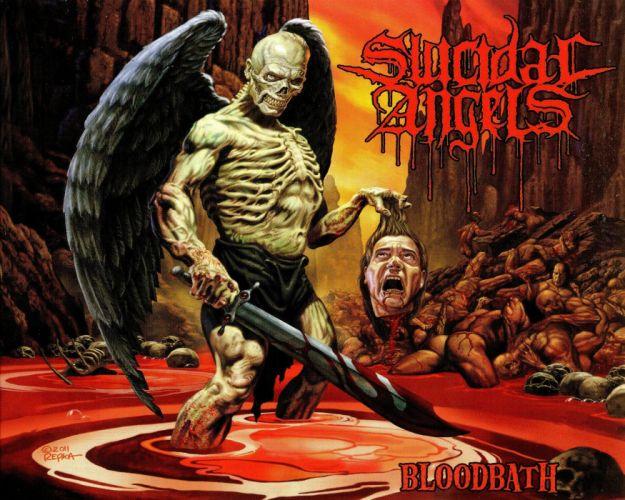 THRASH METAL heavy death black dark evil poster demon blood wallpaper
