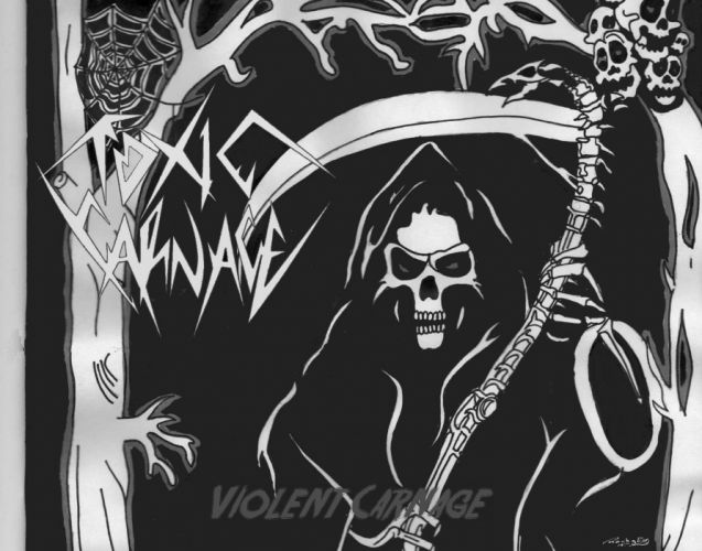 THRASH METAL heavy death black dark evil poster reaper skull wallpaper