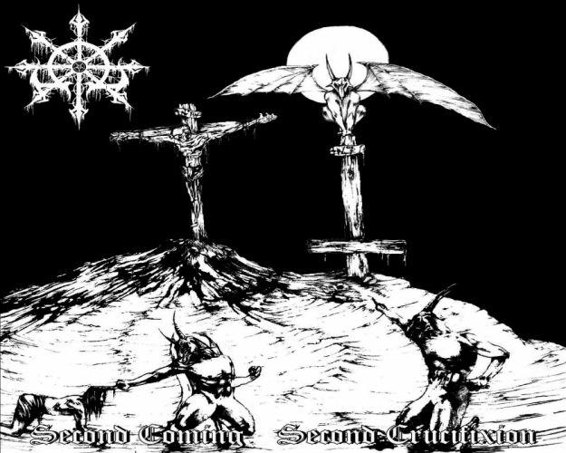 THRASH METAL heavy death black dark evil poster satanic satan demon occult wallpaper