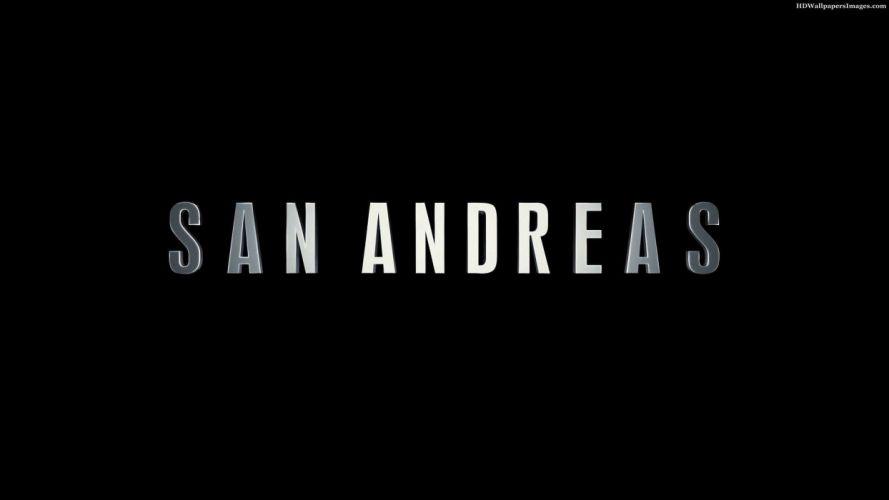 SAN ANDREAS action earthquake disaster apocalyptic adventure rock 1sana sci-fi poster wallpaper
