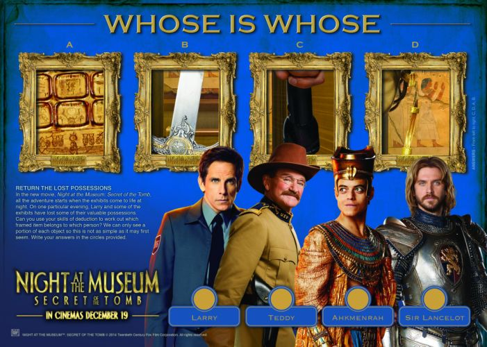 NIGHT MUSEUM action adventure comedy family fantasy 1natm poster wallpaper