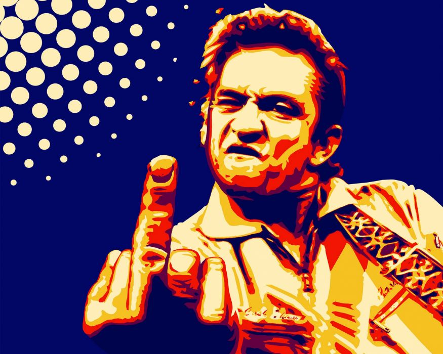 JOHNNY CASH countrywestern country western blues singer 1jcash actor folk rockabilly gospel rock roll finger sadic wallpaper